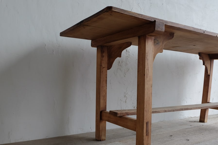 """ICCAのアンティークの縦長のダイニングテーブル""/"