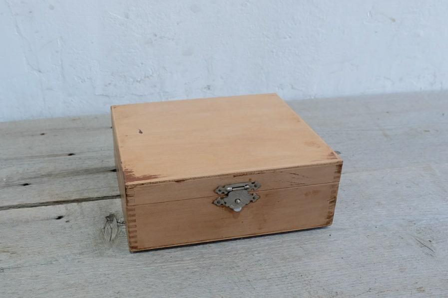 ICCA日本のアンティークのアンティーク小箱