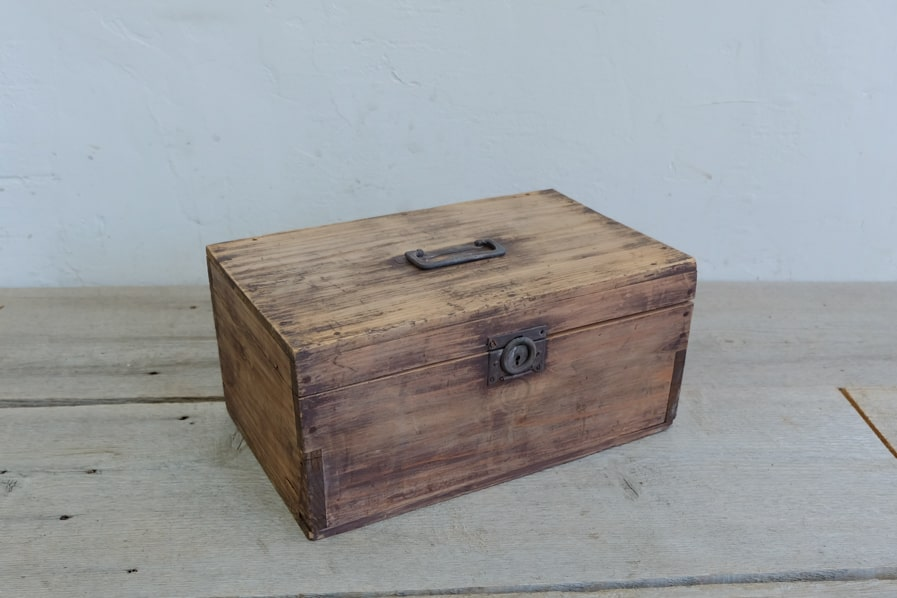 アンティークの道具箱