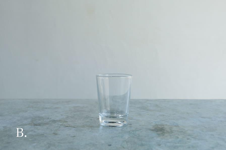 ICCAの日本のアンティークのレトロなシンプルなタンブラーグラス