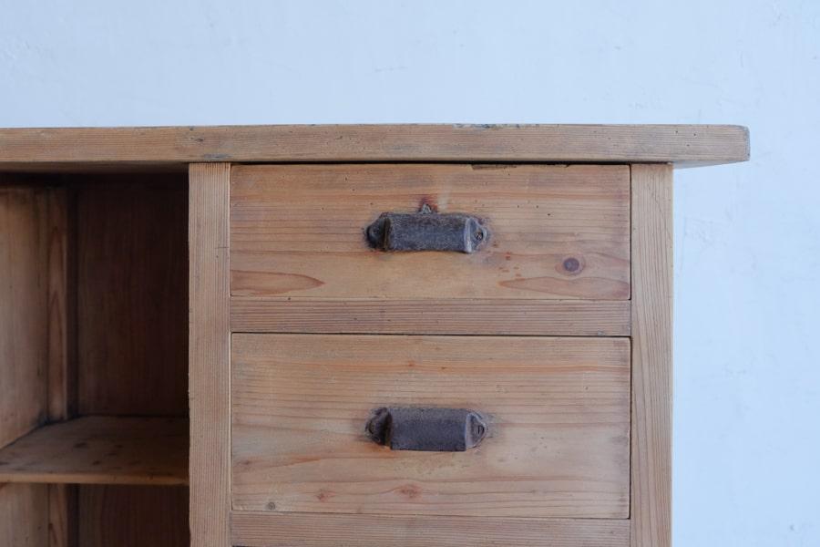 和家具のアンティークコンソールテーブル