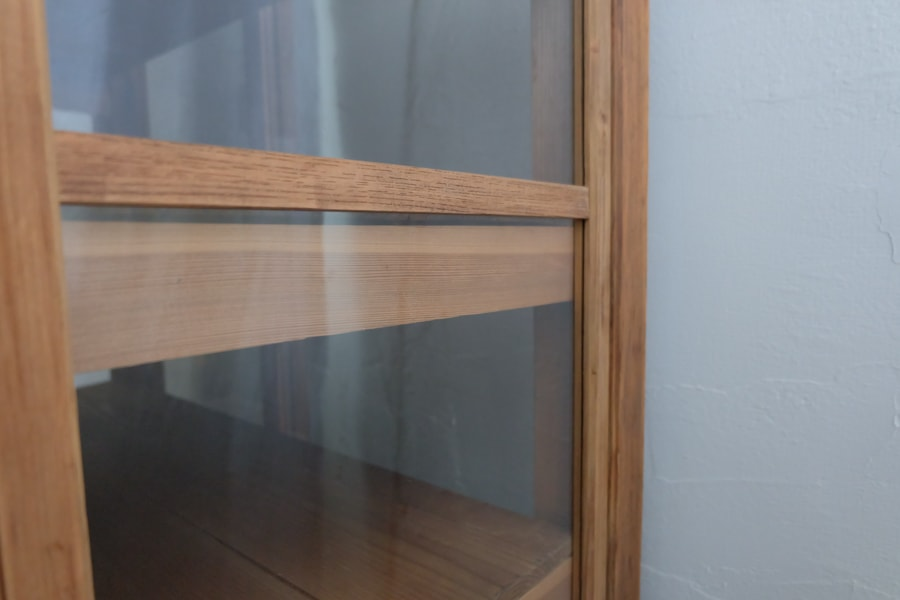 ICCAの日本のアンティークのシンプルな食器棚