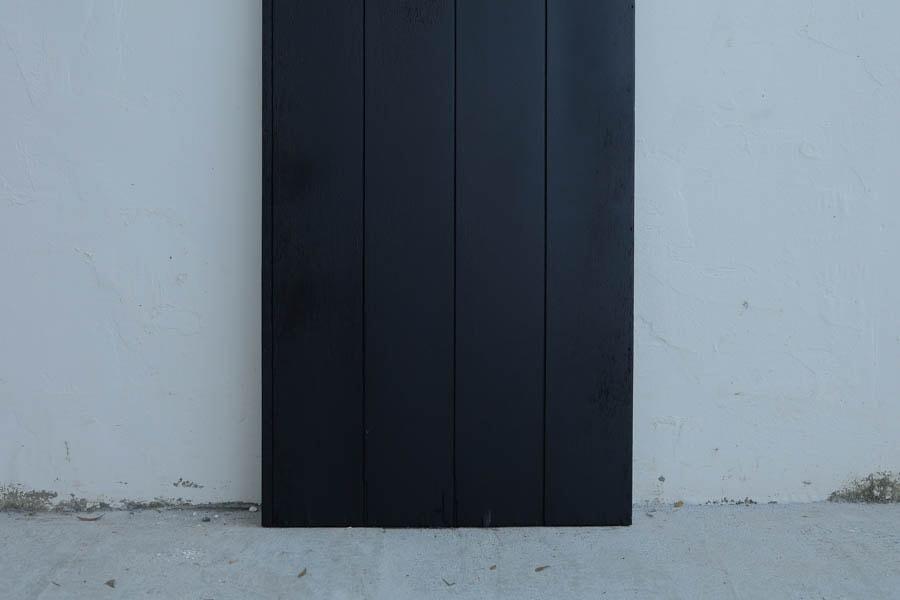 ICCAの日本のアンティークの黒漆の鏡