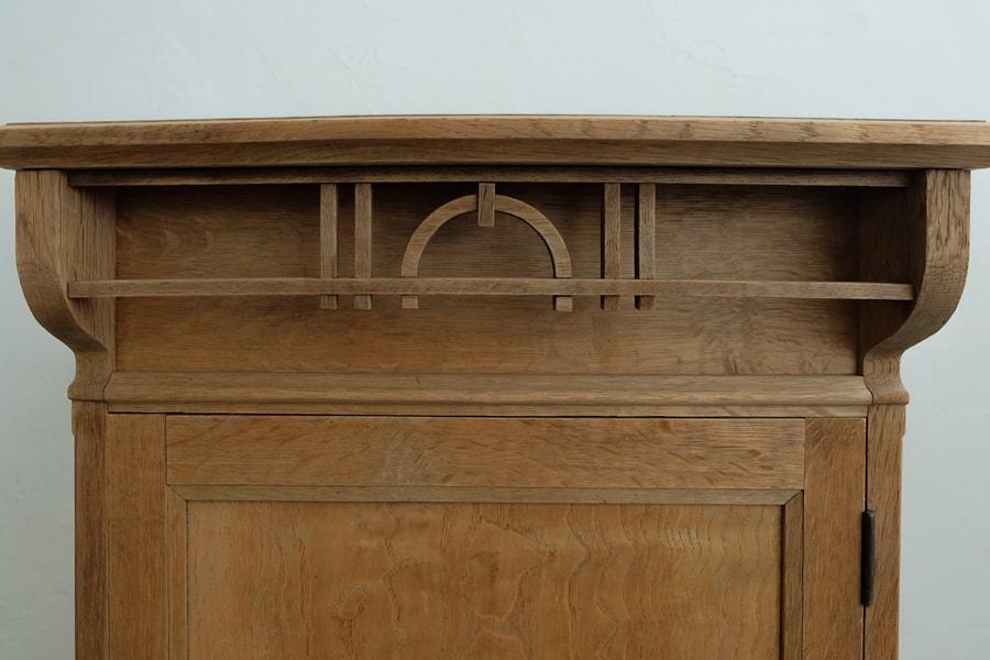 古道具の卓上棚