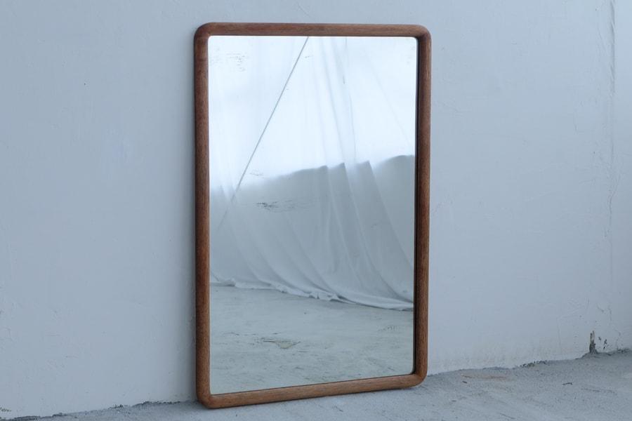 ICCAの日本のアンティークの中型の鏡