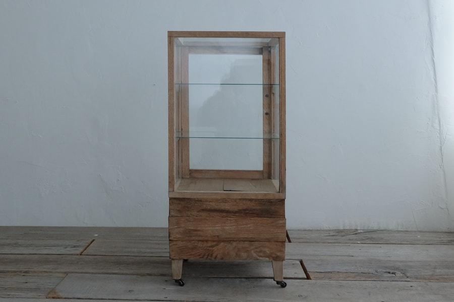 アンティークガラスショーケース