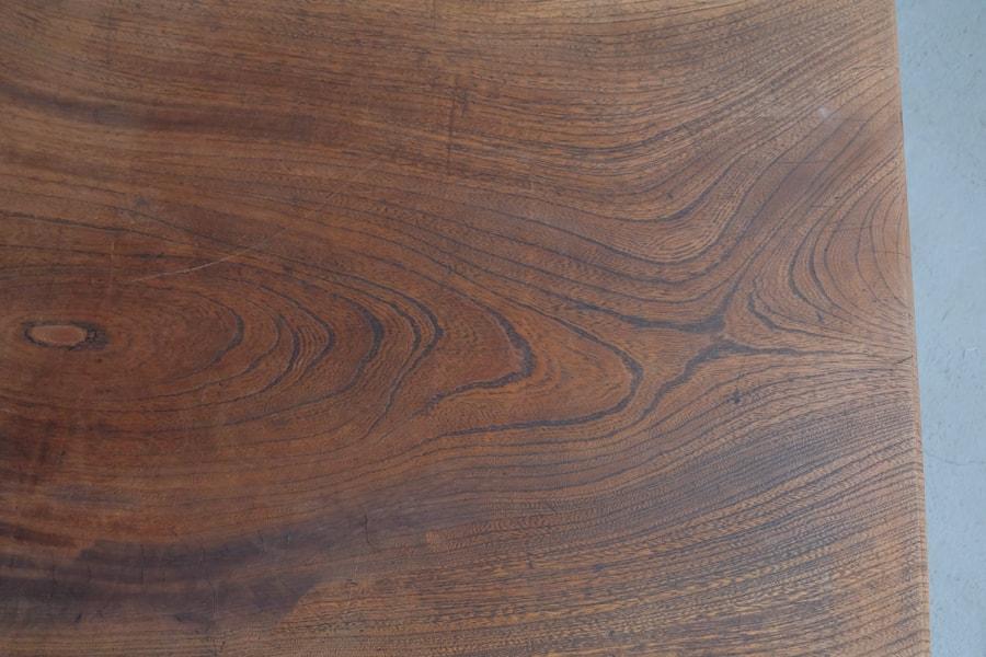 日本のアンティークの和風なコーヒーテーブル