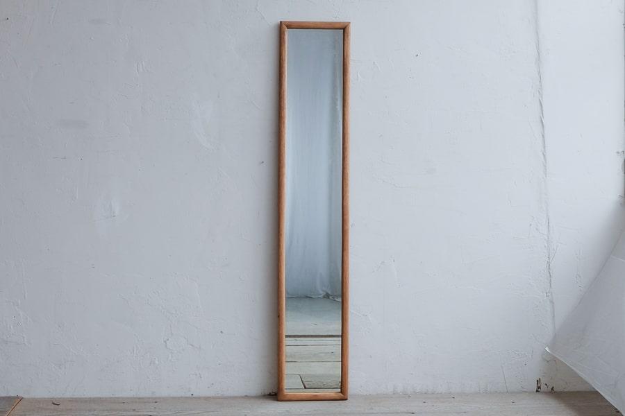ICCAの日本のアンティークの細長い姿見の鏡