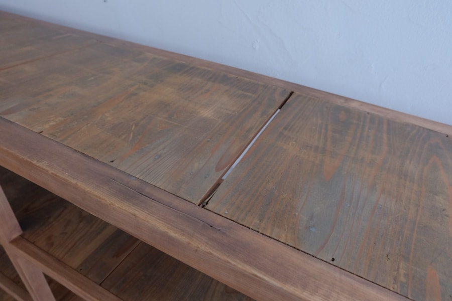 ICCAの和家具のシンプルな本棚