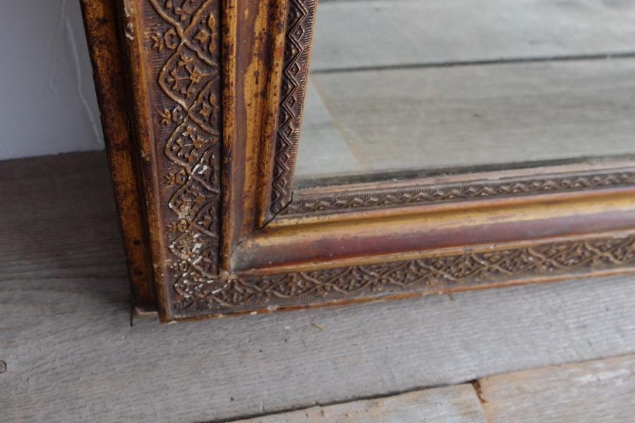 大正ロマンなアンティークの鏡