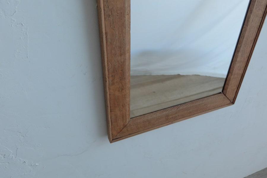 ICCAの日本のアンティークの栗材の額縁の鏡