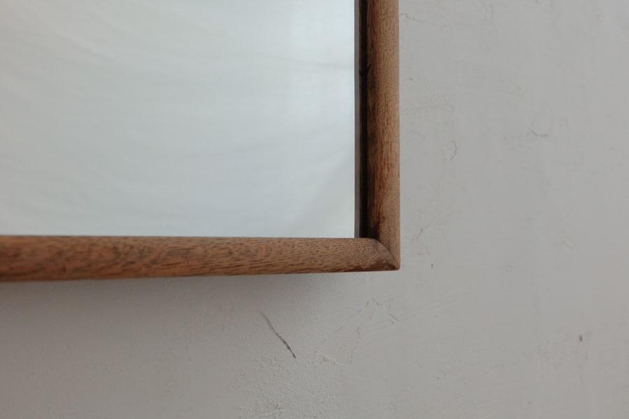 ICCAの日本のアンティークのチェーンの付いた背の高い姿見の鏡
