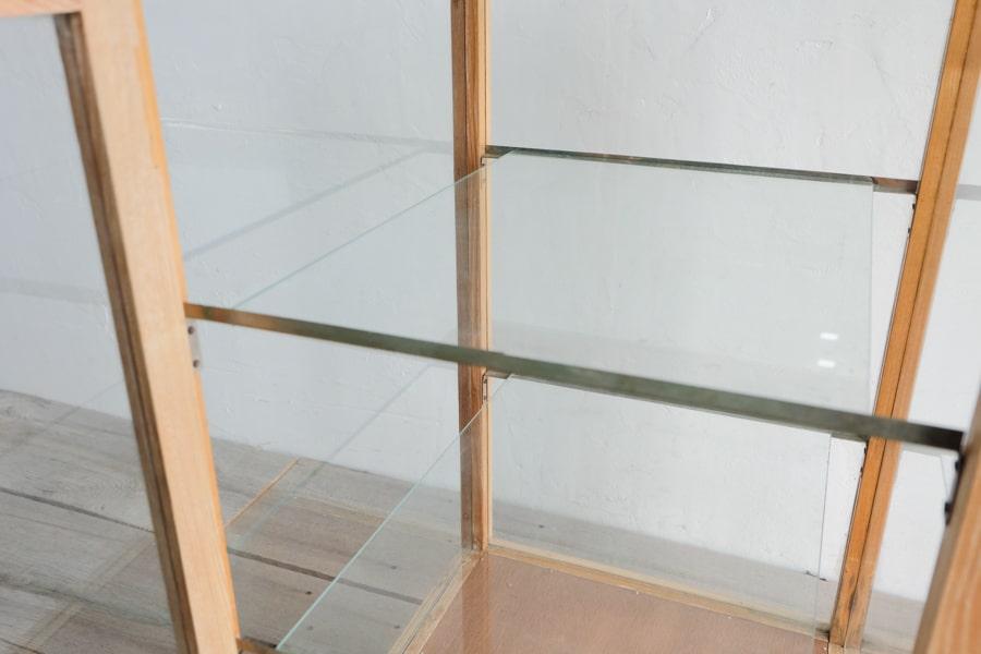 和洋折衷アンティークガラスショーケース