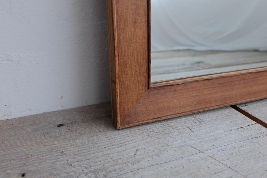 ICCAの日本のアンティークのシンプルな額縁の鏡