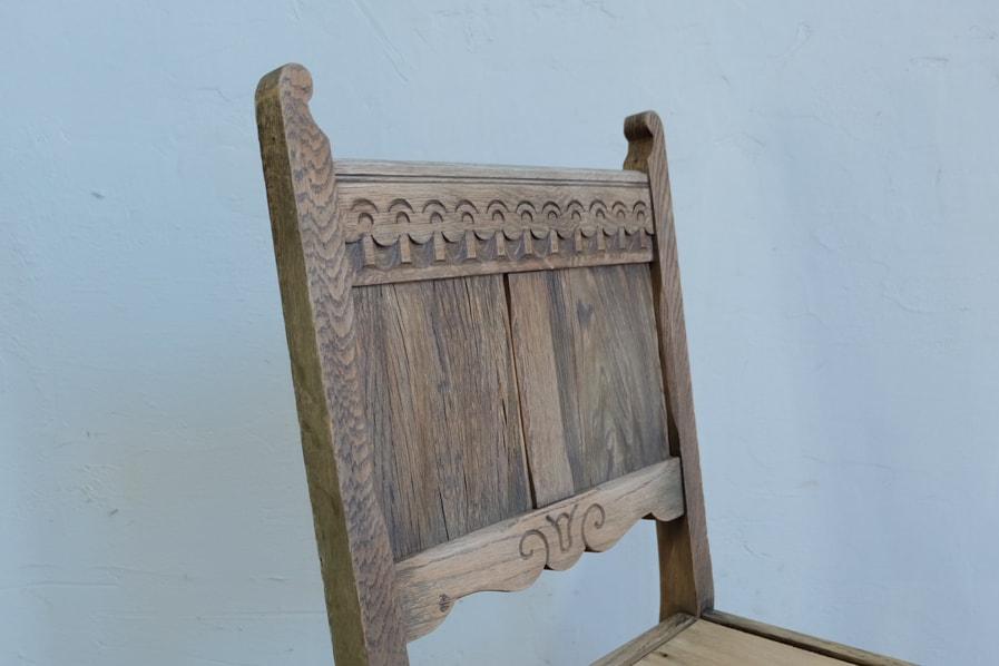 ICCAの日本のアンティークの装飾的な小さな椅子