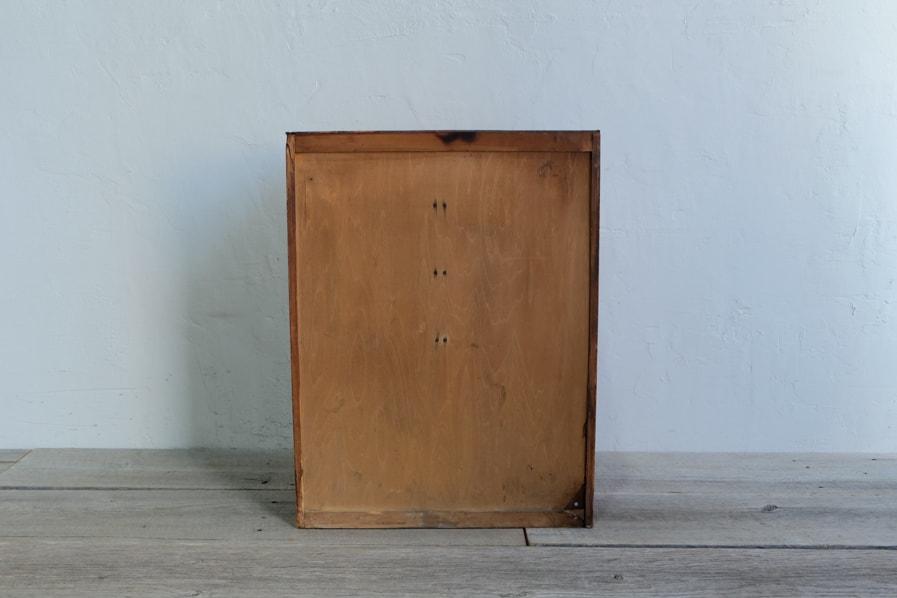 ICCAの日本のアンティークのシンプルなデザインの八杯の引き出しの収納棚