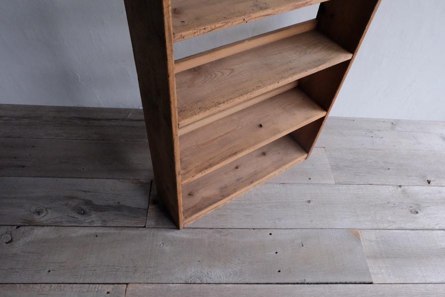 ICCAの日本のアンティークのシンプルな六段の本棚