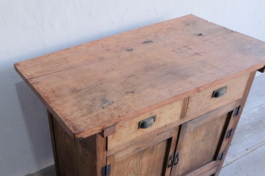 日本の古道具のテレビ台になるコンソールテーブル