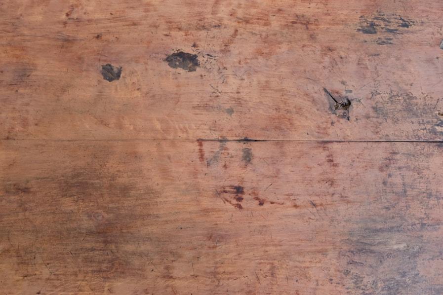 日本の古家具のシンプルなコンソールテーブル