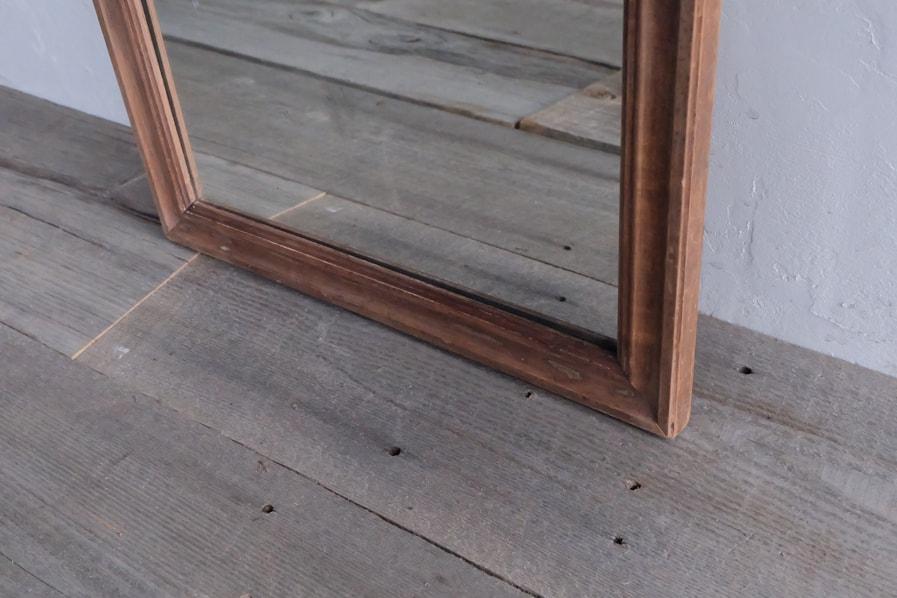 ICCAの日本のアンティークのシンプルな四角の縁の鏡