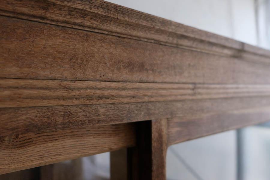 アンティーク 食器棚 飾り棚 和家具 ICCA