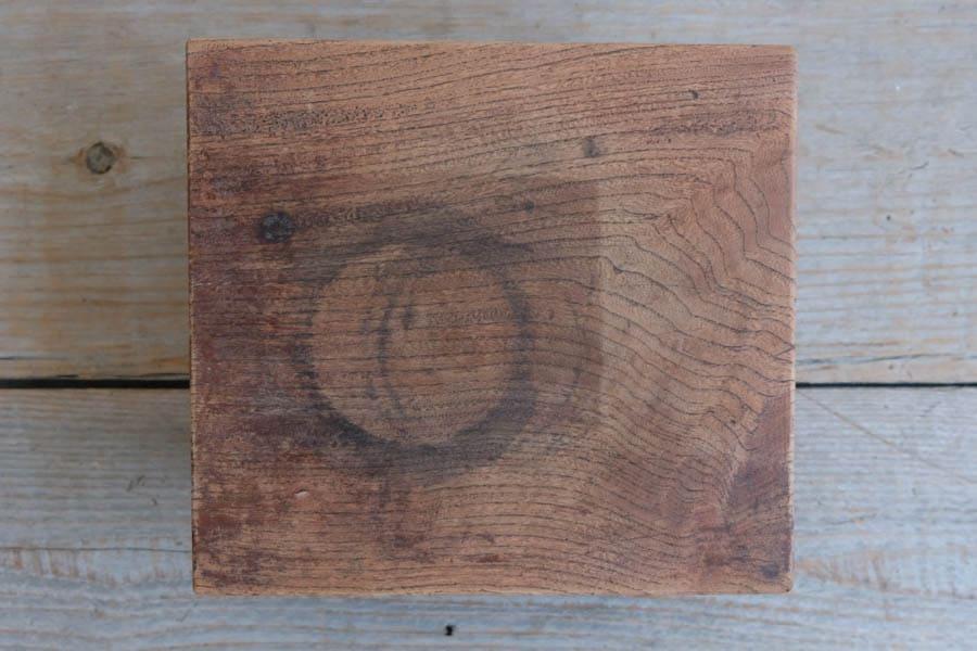 ICCAの日本のアンティークの欅材のプライベートテーブル